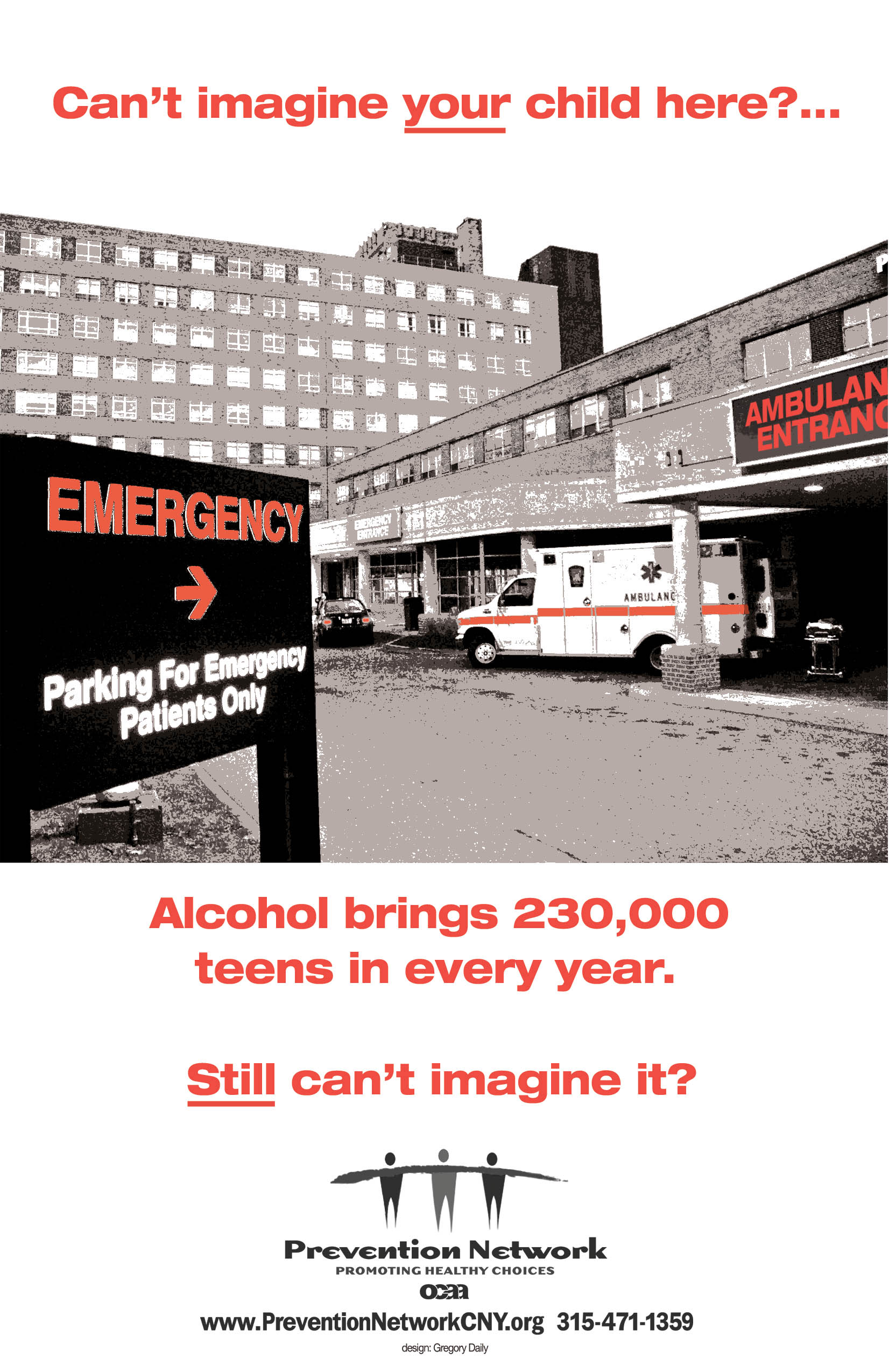 emergency room poster REAL